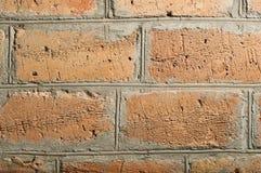 Красивый конец-вверх кирпичной стены Стоковые Фото