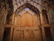Красивый космос стены и свода в традиционной архитектуре стоковое изображение