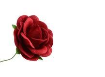 Красивый красный бумажный цветок изолированный на белизне Стоковая Фотография RF
