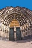 Красивый купол в кёльне Стоковые Изображения