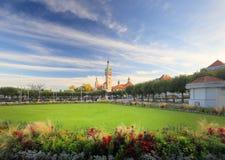 Красивый курортный город стоковые фотографии rf