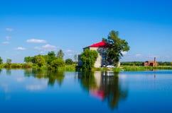 Красивый курорт лета Стоковая Фотография