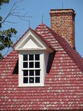 Красивый классический колониальный дом Стоковое Фото