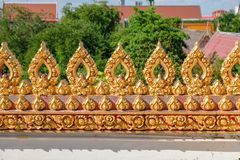 Красивый ландшафт виска Wat Nong Wang в Khon Kaen, Таиланде стоковая фотография rf