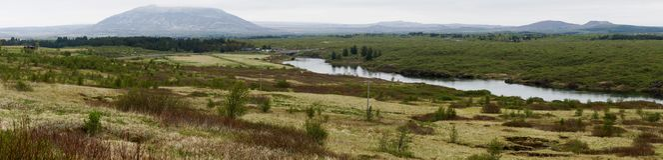 Красивый ландшафт Исландии Стоковая Фотография RF