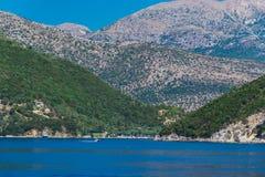 Красивый ландшафт летом в Греции стоковая фотография