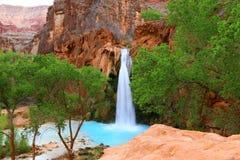 Красивый ландшафт - национальный парк Аризона AZ США гранд-каньона Havasupai стоковое изображение rf