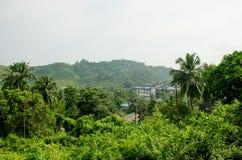 Красивый ландшафт остров Andamansky к Port Blair Индии Стоковое Изображение RF