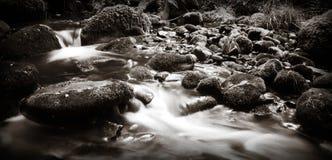 Красивый мечтательный шотландский поток Стоковые Изображения