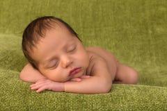 Красивый младенец смешанной гонки стоковые фотографии rf