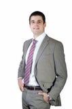 Красивый молодой бизнесмен Стоковая Фотография