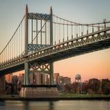 Красивый мост RFK стоковая фотография rf