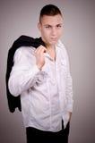 Красивый модельный парень Стоковая Фотография RF
