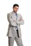 Красивый молодой бизнесмен Стоковые Фото