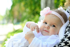 Красивый младенец Стоковое Фото