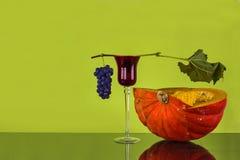 Красивый натюрморт осени Стоковая Фотография RF