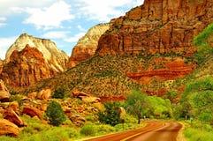 Красивый национальный парк Сиона Стоковое Изображение RF