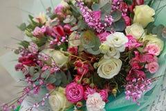 Красивый нежный букет цветков Стоковая Фотография