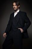 красивый носить костюма человека Стоковое Фото
