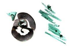 Красивый образец косметик на белой предпосылке Стоковое Фото