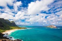 Красивый океан Гаваи Стоковые Фотографии RF