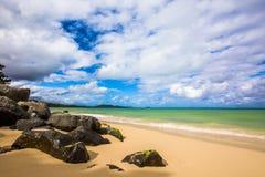 Красивый океан Гаваи Стоковая Фотография RF