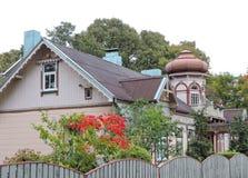 Красивый дом, Латвия Стоковое Изображение RF