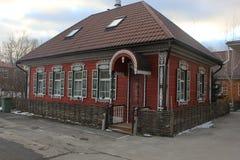 Красивый дом музей казаков стоковое изображение
