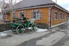 Красивый дом музей казаков стоковая фотография