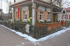 Красивый дом музей казаков стоковые изображения