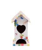 Красивый дом птицы с сердцем Стоковые Фотографии RF