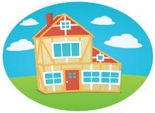 Красивый дом Стоковые Фотографии RF