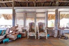 Красивый дом Palapa Стоковые Фото