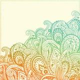Красивый орнамент Стоковые Изображения RF