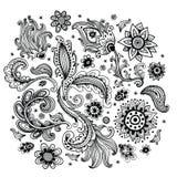 Красивый орнамент Стоковое Изображение