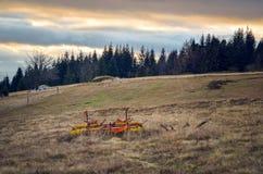 Красивый осенний ландшафт горы стоковые фото