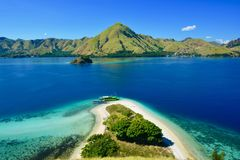 Красивый остров в Индонезии стоковые фотографии rf