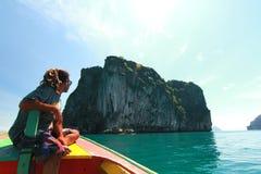 красивый остров в Таиланде Стоковое Изображение