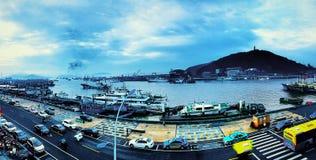 Красивый остров в фарфоре Стоковое Фото