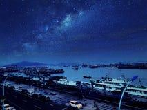 Красивый остров в фарфоре Стоковые Фотографии RF