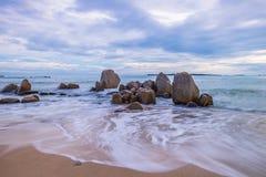 Красивый остров Индонезия Bintan как туристское назначение стоковое изображение