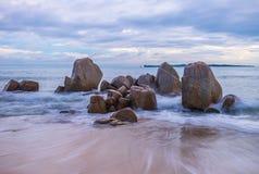 Красивый остров Индонезия Bintan как туристское назначение стоковое изображение rf