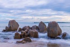 Красивый остров Индонезия Bintan как туристское назначение стоковые изображения