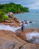 Красивый остров Индонезия Bintan как туристское назначение стоковое фото rf