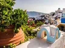 Красивый остров Santorini Стоковые Фото