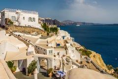 Красивый остров Santorini Стоковое Изображение RF