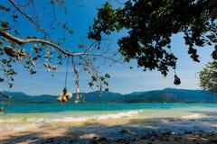 Красивый остров Suwan Koh Стоковые Изображения RF