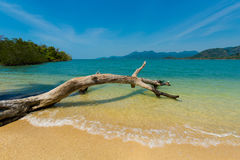 Красивый остров Suwan Koh Стоковое Изображение RF