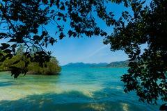 Красивый остров Suwan Koh Стоковое Изображение