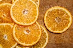 Красивый отрезанный tangerine стоковая фотография rf